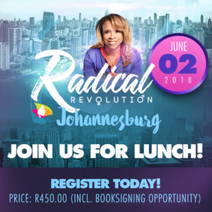 Radical Revolution Lunch with Taffi Dollar
