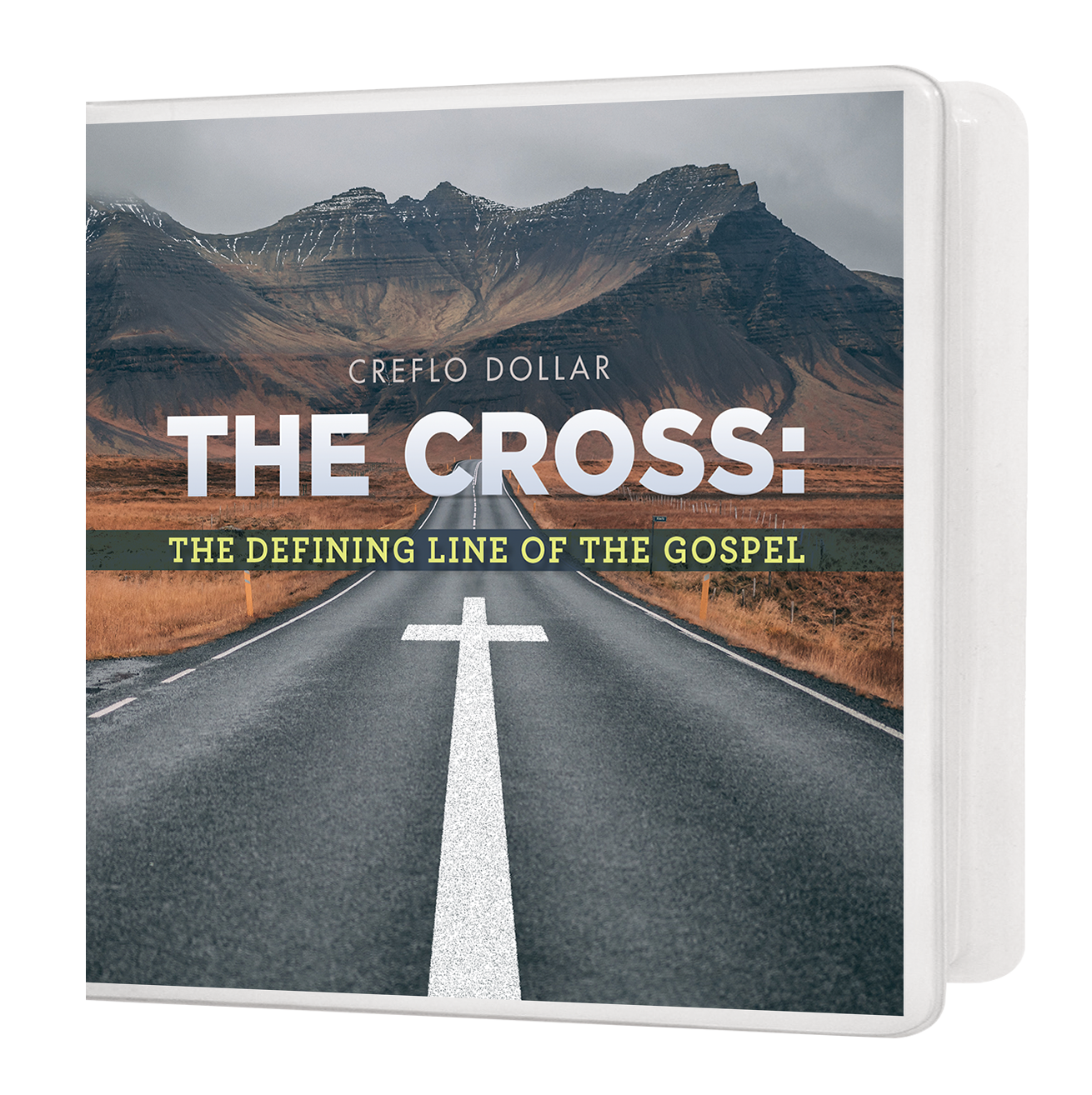 The Cross-The Defining Line of the Gospel_Mockup_CDDVD